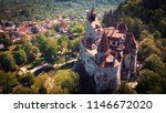 panoramic view to the dracula ... | Shutterstock . vector #1146672020