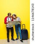 full length portrait of teenage ...   Shutterstock . vector #1146678143