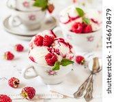 raspberry ripple ice cream... | Shutterstock . vector #1146678479