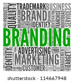 branding and marketing concept... | Shutterstock . vector #114667948