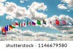 g20 flag summit silk waving... | Shutterstock . vector #1146679580
