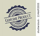 blue genuine product rubber... | Shutterstock .eps vector #1146692033