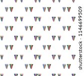 hand drawn pattern with lgbt... | Shutterstock .eps vector #1146699509