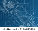 abstract technology background. ... | Shutterstock .eps vector #1146706826