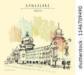 bangalore  bengaluru  ... | Shutterstock .eps vector #1146709490
