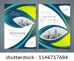 flyer set brochure design... | Shutterstock .eps vector #1146717686