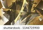 bright gold illustration with... | Shutterstock . vector #1146725900