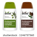 cosmetic package template... | Shutterstock .eps vector #1146737360