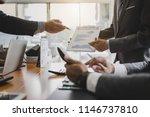 investors group. business... | Shutterstock . vector #1146737810