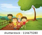 illustration of kids in a...   Shutterstock .eps vector #114675280