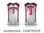 basketball tank top design... | Shutterstock .eps vector #1146755249