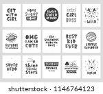 vector scandinavian style... | Shutterstock .eps vector #1146764123