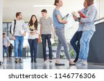 students in university during... | Shutterstock . vector #1146776306