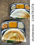 popular southern indian cuisine ... | Shutterstock . vector #1146781376