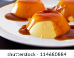 french dessert creme brulee | Shutterstock . vector #114680884
