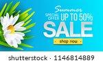 summer sale web banner ...   Shutterstock . vector #1146814889