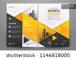front and back cover of a... | Shutterstock .eps vector #1146818000