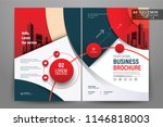 front and back cover of a... | Shutterstock .eps vector #1146818003