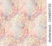 seamless pattern floral design. ... | Shutterstock . vector #1146824720