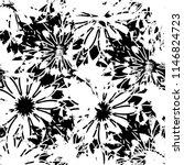 seamless pattern floral design. ... | Shutterstock . vector #1146824723