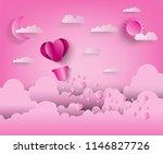 illustration of love and... | Shutterstock .eps vector #1146827726