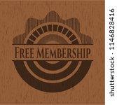 free membership retro style... | Shutterstock .eps vector #1146828416
