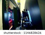 the big cinema projector... | Shutterstock . vector #1146828626
