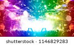 nightlife live event with... | Shutterstock . vector #1146829283