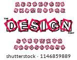 vector of modern abstract... | Shutterstock .eps vector #1146859889