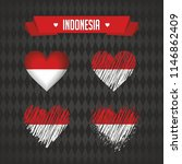 indonesia with love. design... | Shutterstock .eps vector #1146862409