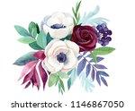 watercolor illustration  ... | Shutterstock . vector #1146867050