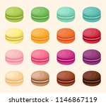 vector collection of golored... | Shutterstock .eps vector #1146867119