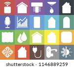 set of 20 icons such as heating ...