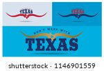 don't mess with texas logo... | Shutterstock .eps vector #1146901559