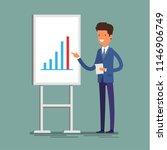 business concept. cartoon... | Shutterstock . vector #1146906749