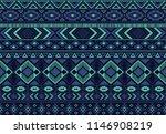 boho pattern tribal ethnic... | Shutterstock .eps vector #1146908219