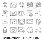 set of 20 icons such as user ...