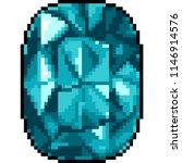 vector pixel art jewelry... | Shutterstock .eps vector #1146914576