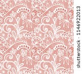 gentle lace seamless pattern...   Shutterstock .eps vector #1146922013