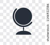 worldwide vector icon isolated... | Shutterstock .eps vector #1146922586
