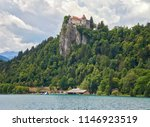 bled castle at bled lake in... | Shutterstock . vector #1146923519