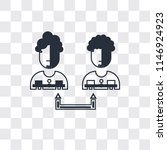 collaboration vector icon...   Shutterstock .eps vector #1146924923