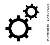 cogs setting icon | Shutterstock .eps vector #1146944306
