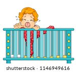 illustration of a kid boy... | Shutterstock .eps vector #1146949616