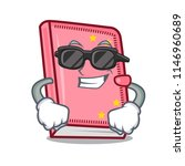 super cool diary character... | Shutterstock .eps vector #1146960689
