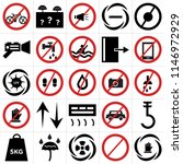 set of 25 icons such as do not...