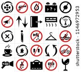 set of 25 icons such as fragile ...