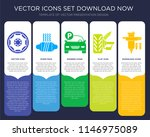 5 vector icons such as alloy...   Shutterstock .eps vector #1146975089