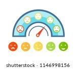 colorful indicators of credit... | Shutterstock .eps vector #1146998156