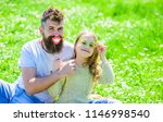 family spend leisure outdoors.... | Shutterstock . vector #1146998540